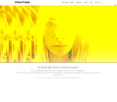 Chiara Frascà - Stylist